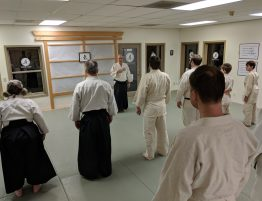 Guest Instructor Louis Sloss Sensei