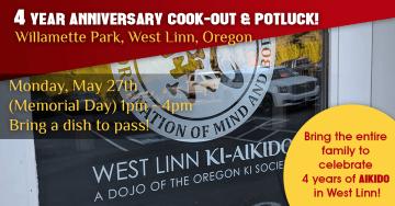 West Linn Ki Aikido - 4 Year Anniversary Cook Out